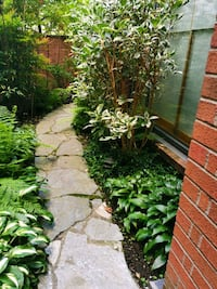 Gardens lawns and hedges and pools Vancouver