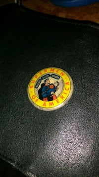 VINTAGE 1939 SUPERMEN OF AMERICA PIN Erie, 16510