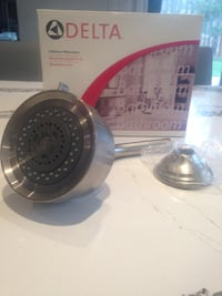 Delta Brushed Nickel Shower Head Toronto