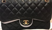 Chanel Jumbo- Caviar White Rock