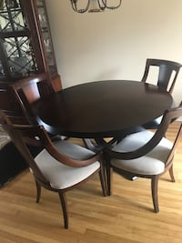 Dining room set with China closet