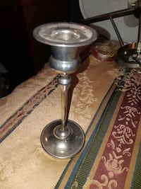 Silver Plated Candle holder (made in England) Maple Ridge, V2X 7W5