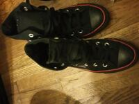 pair of black-and-white Nike basketball shoes Lincoln, 68510