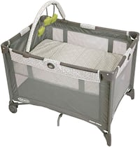 Graco pack n play on the go playard+waterproof mat