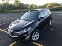 2018 Chevrolet Equinox LT AWD 6878 Miles Panoramic Vehicle Title:	Rebuilt VIN: 2GNAXSEV3J6347225 Mileage: 6878	 Engine:	1.5 LITER Number of Cylinders: 4 Interior Color:	Gray Exterior Color:	Mosaic Black Metallic  Panoramic roof blind spot cruise control n Royal Oak