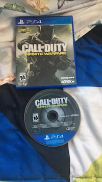 Call of Duty Infinite Warfare PS4 game disc Los Angeles, 90063