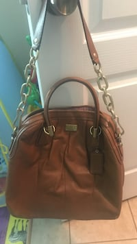 brown leather 2-way handbag Harlingen, 78550