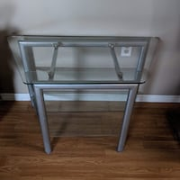 Three Tier Glass TV Stand Malahide, N0L