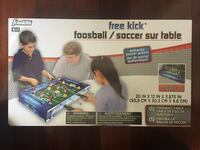 "FOOSBALL TABLE - Franklin 20"".  Provides long periods of fun!"