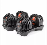 Bowflex SelectTech 552 Adjustable Dumbbell SET (Two Dumbbells)