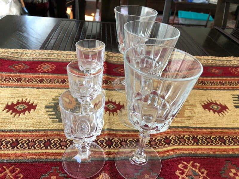 Waterford Crystal Glasses 0d36f1a2-7647-4149-a36d-b37d978bee45