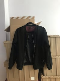 Atmosphere Black Bomber Jacket Toronto, M5V 1B1