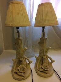 2 table lamps  Pickering, L1V 6R1