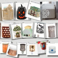 Scentsy warmers, plug ins, items and wax bars