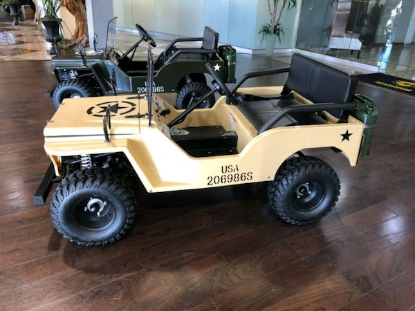 Used New 125cc Mini Jeep Automatic Off Road Use Only For Sale In