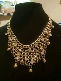 silver chain link necklace with pendant Dallas, 75228