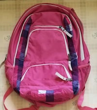 Pink Trans by Jansport large backpack w/ supplies Clinton, 01510