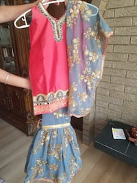 Kids Sharara Suit Surrey