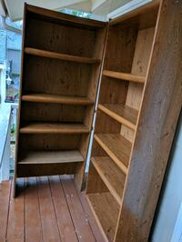 (FREE) Five Wooden Shelves ,curb alert first come  Gloucester County, 08051
