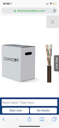 Cat 6 Ethernet Cable (NC, USA)