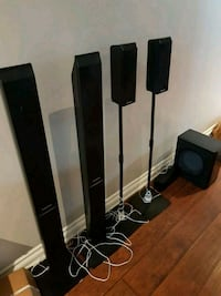 black and gray home theater system Mississauga, L4W 1A2