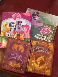 My Little Pony Books and Figures Bundle Los Angeles