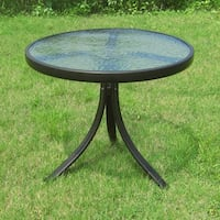 Mainstays Round Outdoor Glass Top Side Table , SKU # 52283 2263 mi
