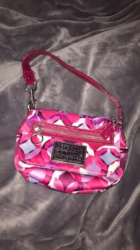 Authentic pink Coach purse. Never used Fairfax, 20854