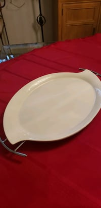 PORCELAIN SERVING PLATTER