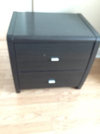 Chestnut brown nightstands  Toronto, M3H 4A4
