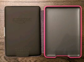 Kindle Paperwhite with case