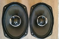 2 Pioneer 6x9s 4ohm. With built-in crossover.  Centreville, 20121