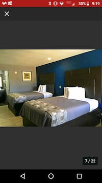 Hotel room paid until 25 Denham Springs