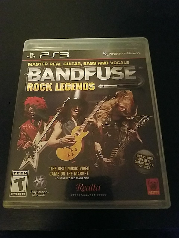Sony PS3 BandFuse game