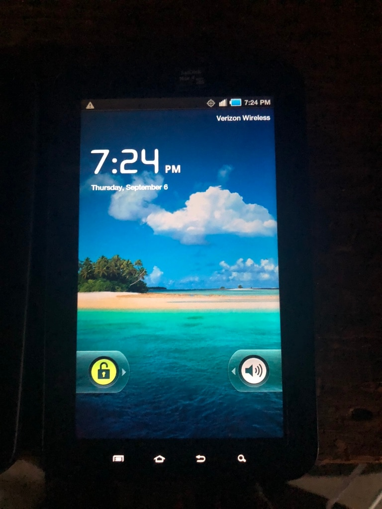 Used Samsung Galaxy Tab SCH-I800 2GB, Wi-Fi + 3G (Verizon), for sale
