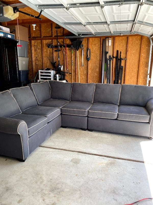 Sectional Couch - Gray 2