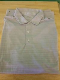 Men's XL Short Sleeve Gray Polo Milwaukee, 53225