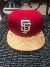 Red & Gold San Fransico Giants Hat Sacramento, 95820