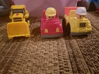 yellow and red plastic toy car Eden, 14057