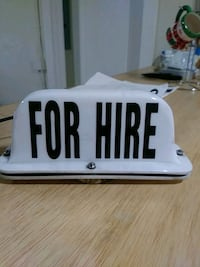 For Taxis, for Hire