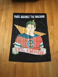 "Rage Against The Machine ""Evil Empire"" Banner For Sale Palos Hills, 60465"