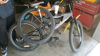 black and red hardtail mountain bike Watsonville, 95076