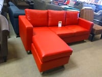 Red leather sectional sofa sale Phoenix, 85018
