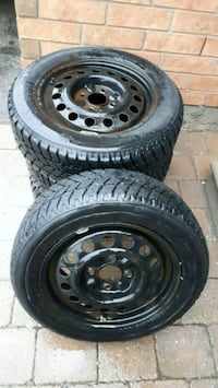 Hankook Winter Tires with rims.
