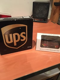 UPS Diecast airplane and truck