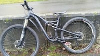 black and gray full suspension mountain bike Vancouver, V6A