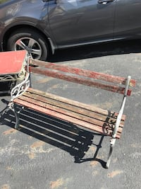 Wrought iron bench New Albany, 43054