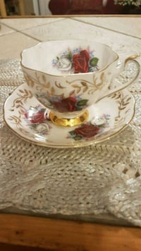 Antique Queen Anne Cup/Saucer Barrie, L4N 6C3