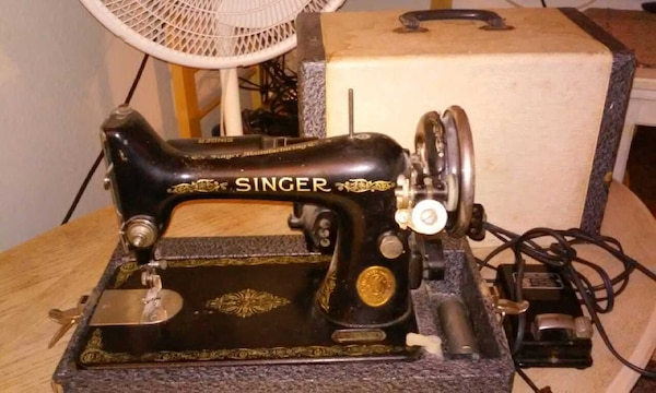 Used 40 Singer Sewing Machine For Sale In Phoenix Letgo Classy 1935 Singer Sewing Machine