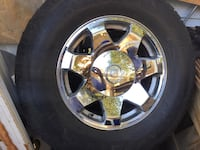 Chrome set 2005 Cadillac Escalade wheels Topeka, 66614